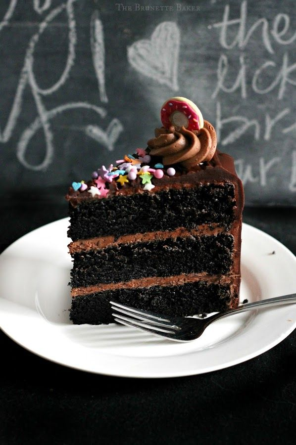 ... Black Magic Cake on Pinterest | Magic cake recipes, Cakes and Cream