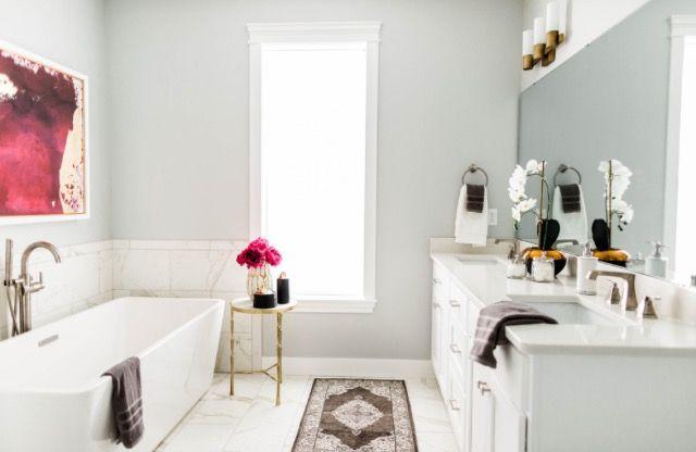Ellie and Jared Mecham - Master Bathroom