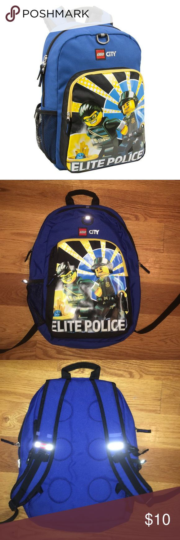 """New Lego City Elite backpack 11"""" by 16"""" new backpack. Never used. Lego Accessories Bags"""