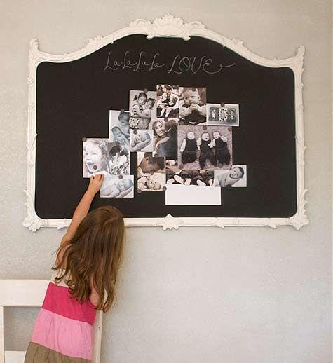 mirror back chalkboard