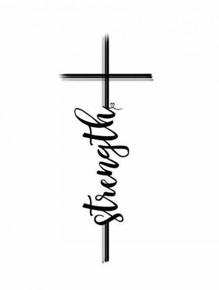New Tattoo Christian Ideas Strength Ideas