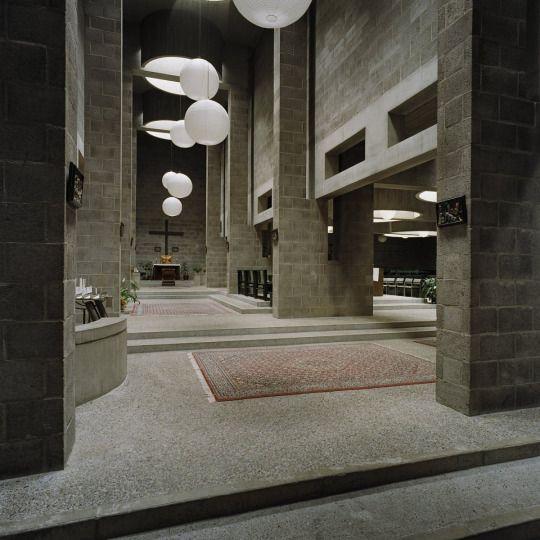 Aldo van Eyck: Pastoor van Arskerk, The Hague, Netherlands, 1963–1969