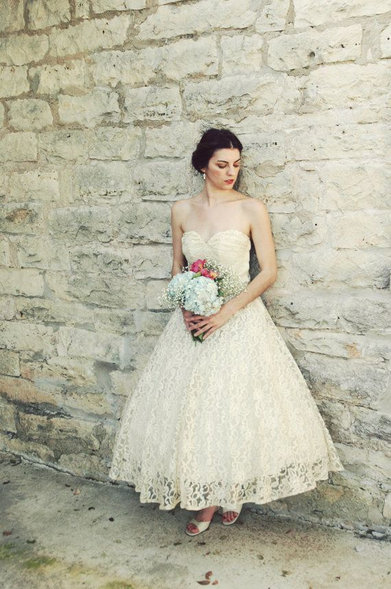Elegant Tea Length Wedding Dresses Sisters Pinterest Dress And