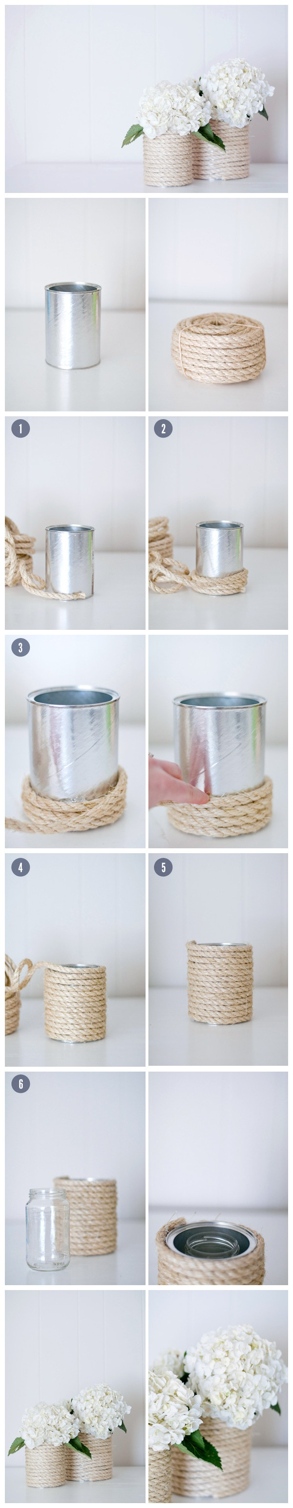 【Wedding DIY】Twine Bottles