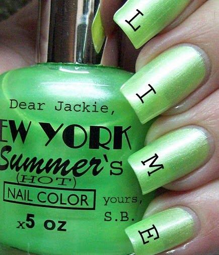New York Summer Nail Polish: Best 25+ Lime Green Nails Ideas On Pinterest