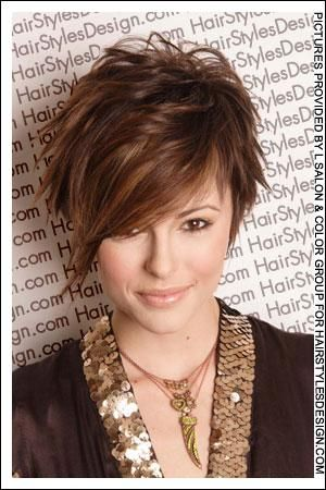 Short Hairstyles With Bangs For Women Over 40 | Short and Layered Hairstyles You Should Try | Latest-Hairstyles ...