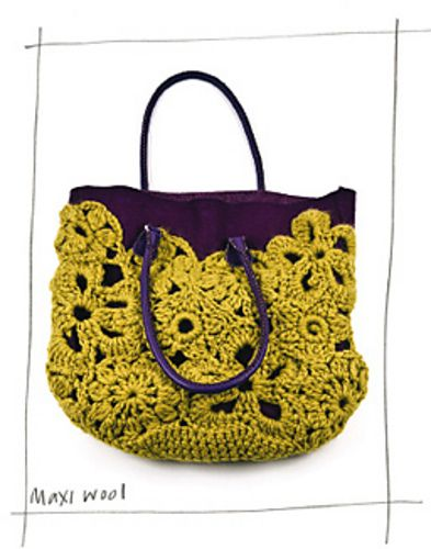 Ravelry: 15. Crochet Lace Bag (USA) pattern by Erika Knight - another view