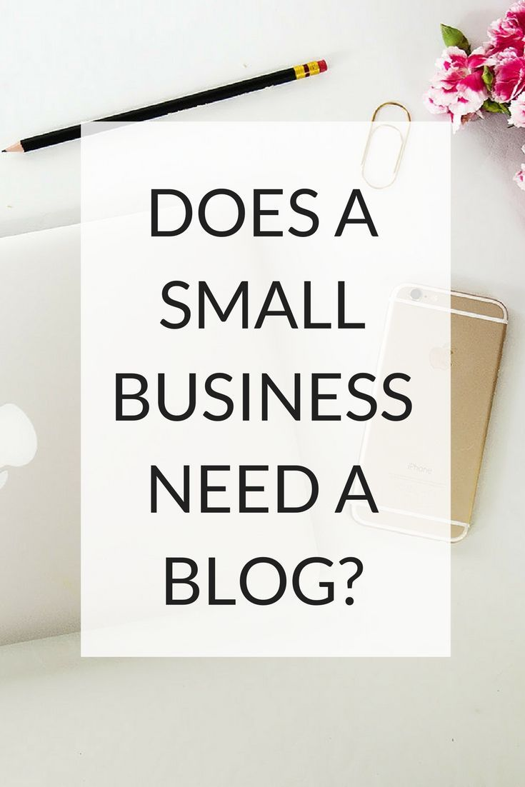 Working out if a blog is of benefit to small businesses via @kairenvarker