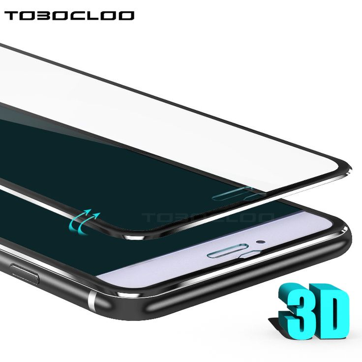 TOBOCLOO 3D Full Tempered Glass For iPhone X 6 6s 7 8 Plus Protective Premium Screen Protector Case Cover For iPhone 7 8 7P 8P //Price: $2.04 & FREE Shipping //     #hashtag1