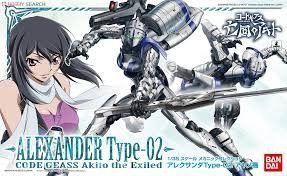 MK - 04 Alexander Type-02 Ayano Custom 1/35 Code Geass