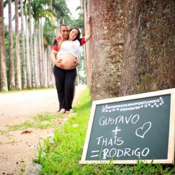 Thais & Gustavo = Rodrigo Ensaio Gestante Jardim ...