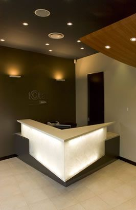 dental practice reception design