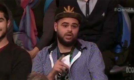 25th June 2015 - The reactionary Abbott government is using Zaky Mallah's appearance on Q&A to try to close debate on the draconian citizenship stripping powers it is legislating. It wants no d... http://winstonclose.me/2015/06/26/je-suis-zaky-mallah-anyone-written-by-john-passant/
