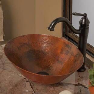 Native Trails Maestro Metal Oval Vessel Bathroom Sink Wayfair Bathroomsinkidea Bathroom Sink Metal Sink Sink