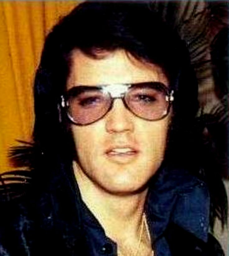 Clear Elvis Glasses