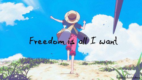 Freedom Is All I Want. . . //MisakiPureBlood: April 2015