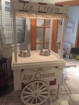 Carrito de helados para eventos y fiestas - The Most Beautiful Site. Alquiler de Carritos de Palomitas y Algodón de azúcar