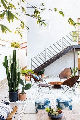 Outdoor Boho Lounge