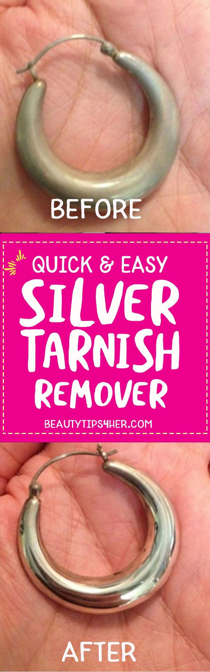 How to Clean your Tarnished Silver jewelries | Tarnished ...