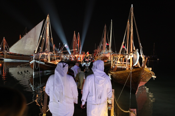 Katara Dhow Show, Doha. view on Fb https://www.facebook.com/SinbadsQatarPocketGuide  credit: muscolinos