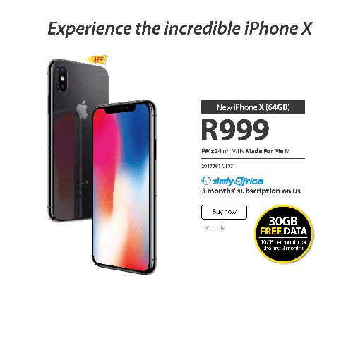 Experience the incredible iPhone X