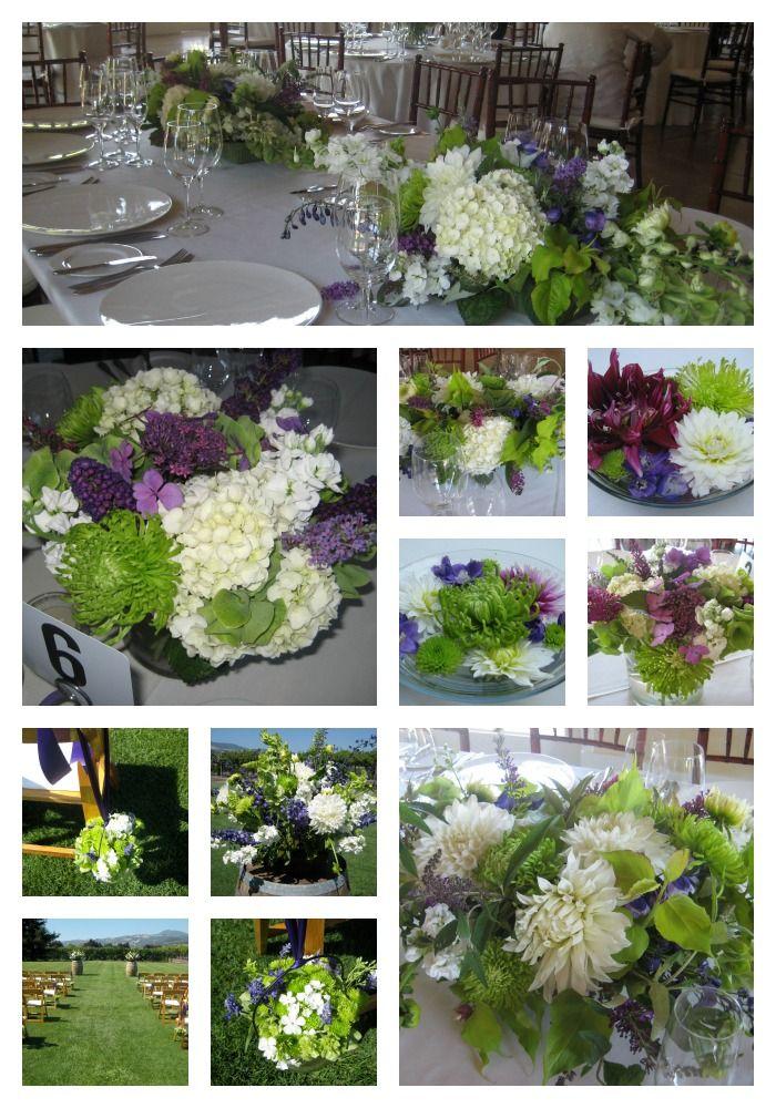 July Wedding - www.DragonflyFloral.com - #winecountrywedding #dragonflyfloral #summerwedding