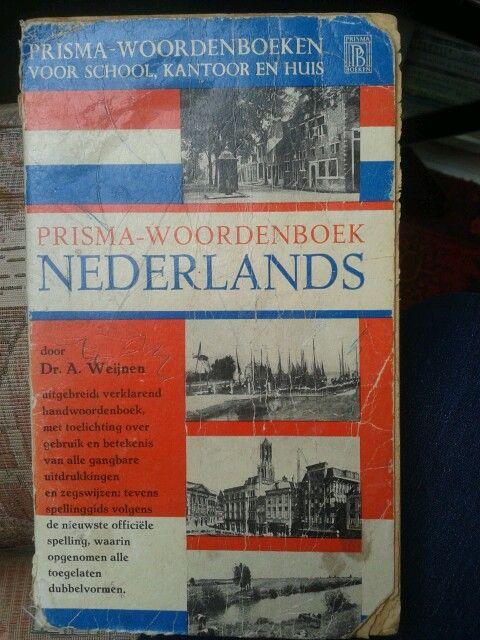 Prisma woordenboek Nederlands.
