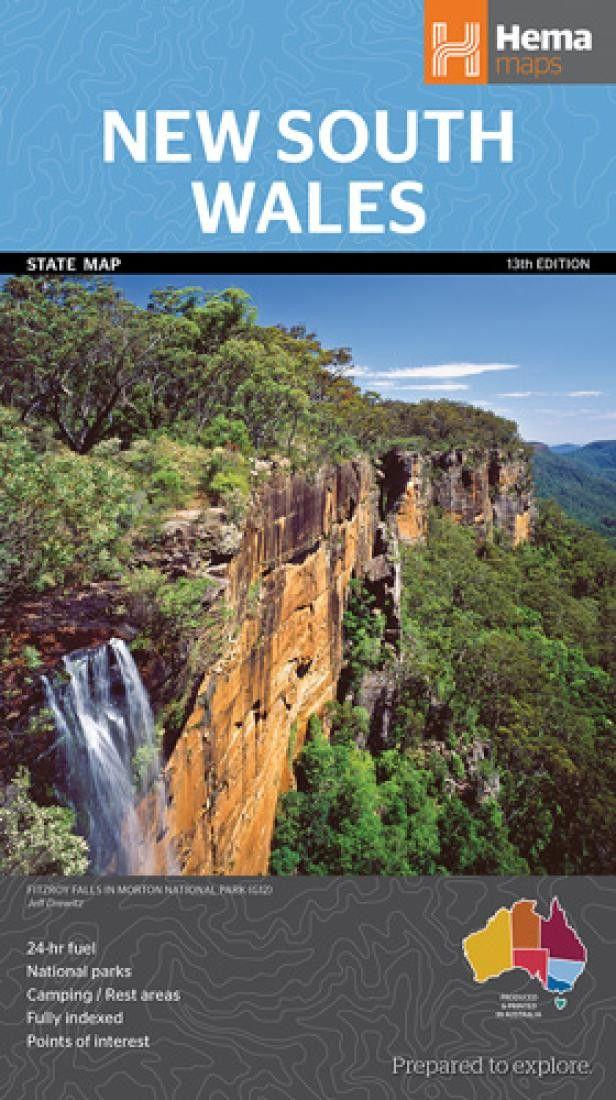 New South Wales, Australia by Hema Maps