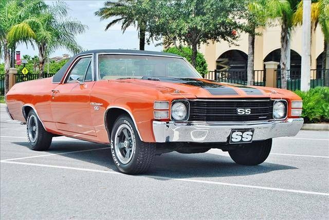 1972 Chevrolet El Camino. Maintenance of old vehicles: the material for new cogs/casters/gears could be cast polyamide which I (Cast polyamide) can produce