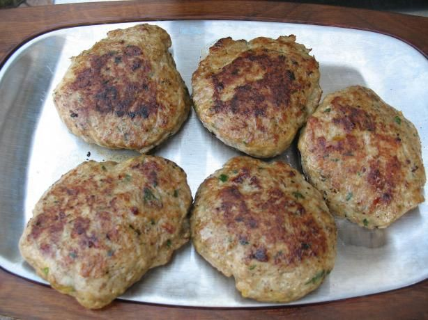 Ground Chicken Kofta Kebabs from Food.com:   This is a light recipe that is awesome on the taste buds. It is very easy and quick to make and goes nicely along with couscous.     You can play around with the vegetable ingredients till you get the right mixture, so those are estimates. I usually form them on metal skewers and remove them when cooking since my grill is too small.