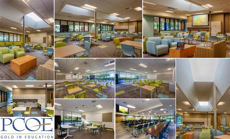 Esempio di School Design: ambienti scolastici per l'apprendimento realizzati dal PCOE (Uff. Educ. Contea di Placer)