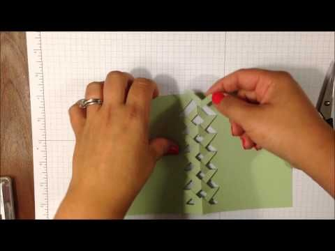 Stampin' Up Braided Card WOW Wednesday #4 - YouTube