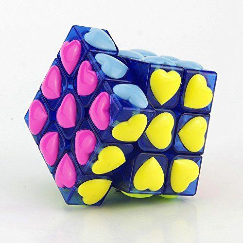 Yongjun 3×3 Heart Shape Plastic Stickerless Speed Rubik's Cube Blue Transparent Sunny Hill Cubes http://www.amazon.com/dp/B01CJ5I7YO/ref=cm_sw_r_pi_dp_BS58wb1VXMB3Z