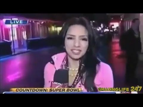 She's Trying To Do The News, But Keeps Getting Interrupted. Her Solution Had Me Laughing