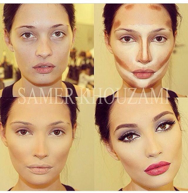 Contouring Your Face Gorgeous Example Makeup