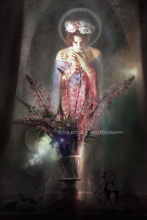 Saint - dark, moody, vintage, female figure, lights, magical 5090px X 3394px at 300Dpi  FOR BOOK COVER - AUDIO BOOK - E BOOK - PRINTED BOOK COPYRIGHT note and License - Please read!  One time fee - non exclusive license for book cover design. After your purchase I am NOT SELLING the same image for c