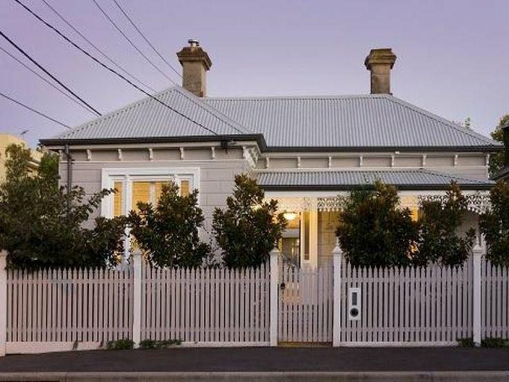 victorian exterior house color schemes melbourne - Google Search