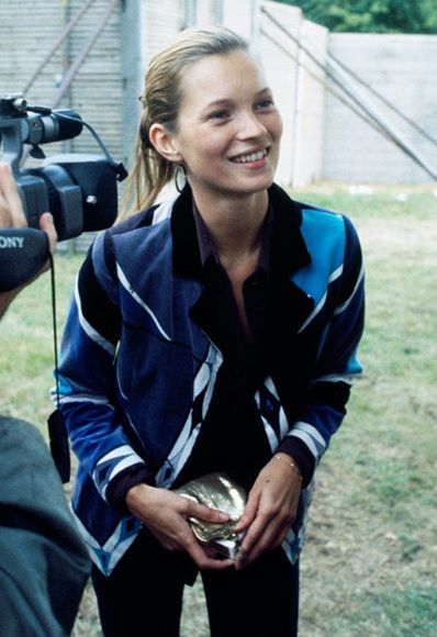 Kate Moss at Glastonbury