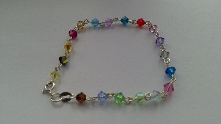 swarovski bracelet van BeeDelighted Jewelry op DaWanda.com