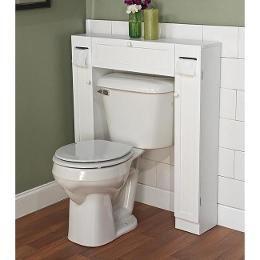space saving storage unit for the bathroom via Shopping.com - great inspiration for a DIY!