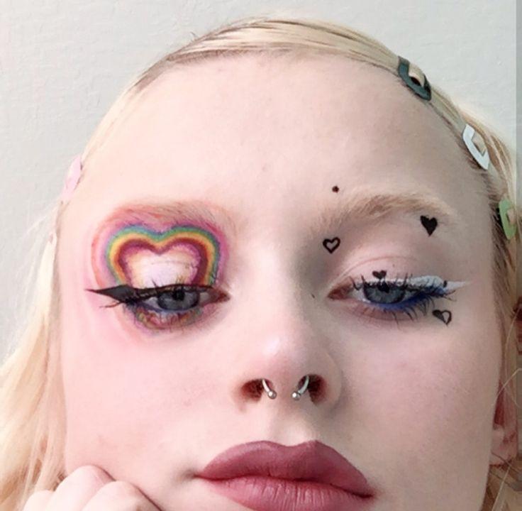 #maquillaje #makeup #colors #colores #heart #corazon #love