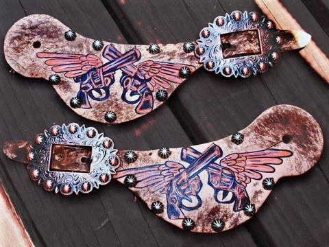 "CUSTOM spur straps ""Your design"""
