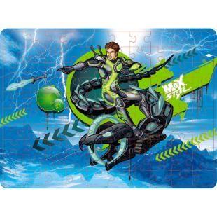 Quebra-Cabeça Mattel Max Steel e a Serpente 100 Peças, 10x Modo Turbo! Com o biolink da N-Tek aprimorado, Max está 10 vezes mais forte e mais rápido. Ele pode turbificar também os equipamentos, aumentando o tamanho e deixando tudo mais poderoso!    Max Steel é um super agente secreto corajoso, que usa sua inteligência e habilidade física para lutar contar inimigos terríveis. Ele conta com a ajuda da equipe N-Tek e muitos equipamentos de alta tecnologia.