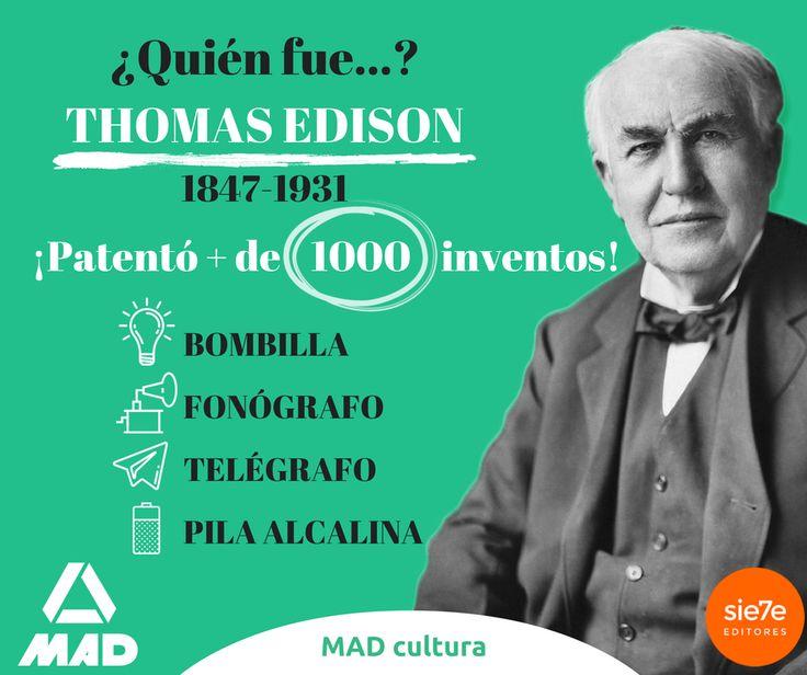Quién fue Thomas Edison