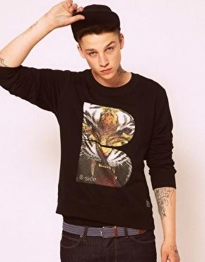 B-side Tiger B Sweatshirt