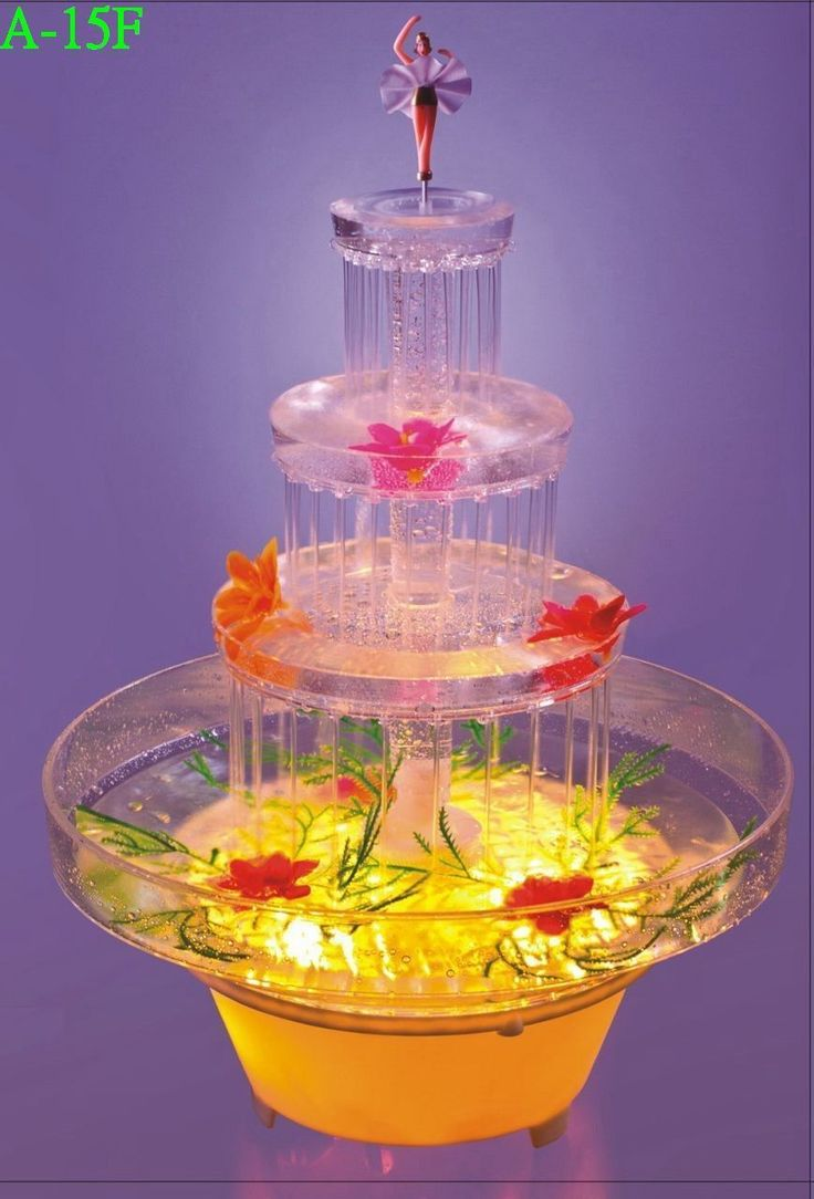 fancy fanci fountain wedding cake europe uk