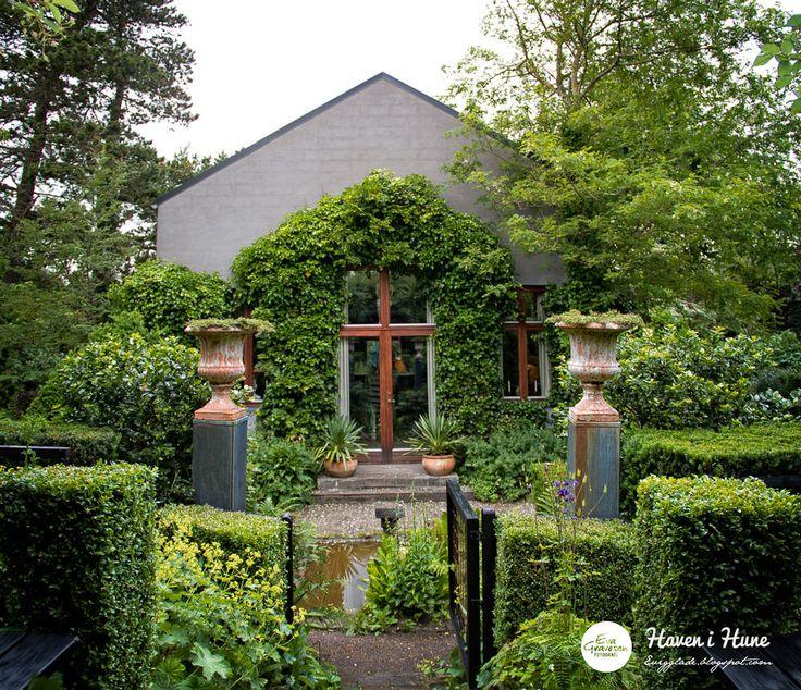 Claus Bonderup, Danish architect, Anne Just, garden, artist, Haven i Hune
