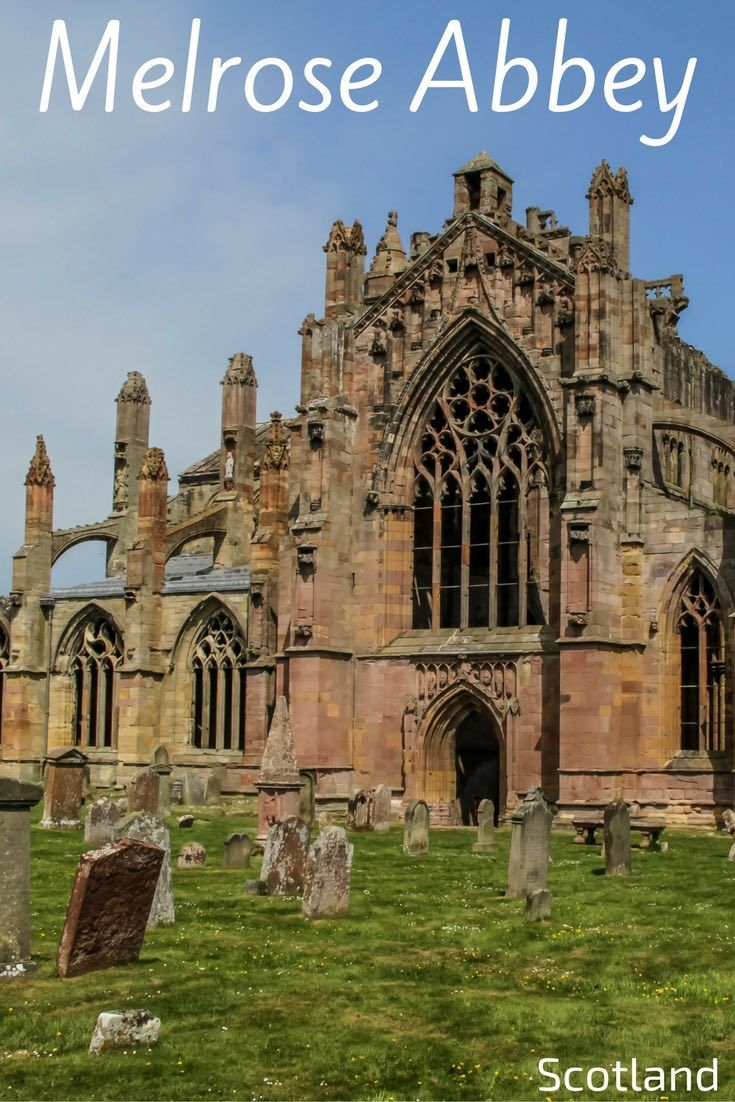 Melrose Abbey Scotland was one of the richest and most powerful abbeys in Scotland. As you explore is still significant ruins, there is a special atmosphere as you imagine all that happened there. Discover the abbey in video and photos, and get info to pl