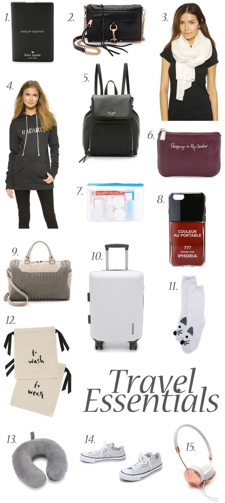 15 Packing Essentials for your Next Holiday | The Tia Fox