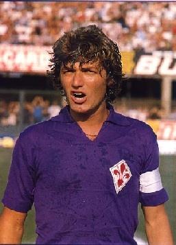 Giancarlo Antognoni, former captain of Fiorentina.